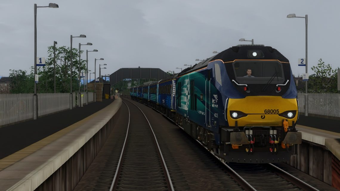 2L69 1719 Edinburgh – Cardenden – Class 68!