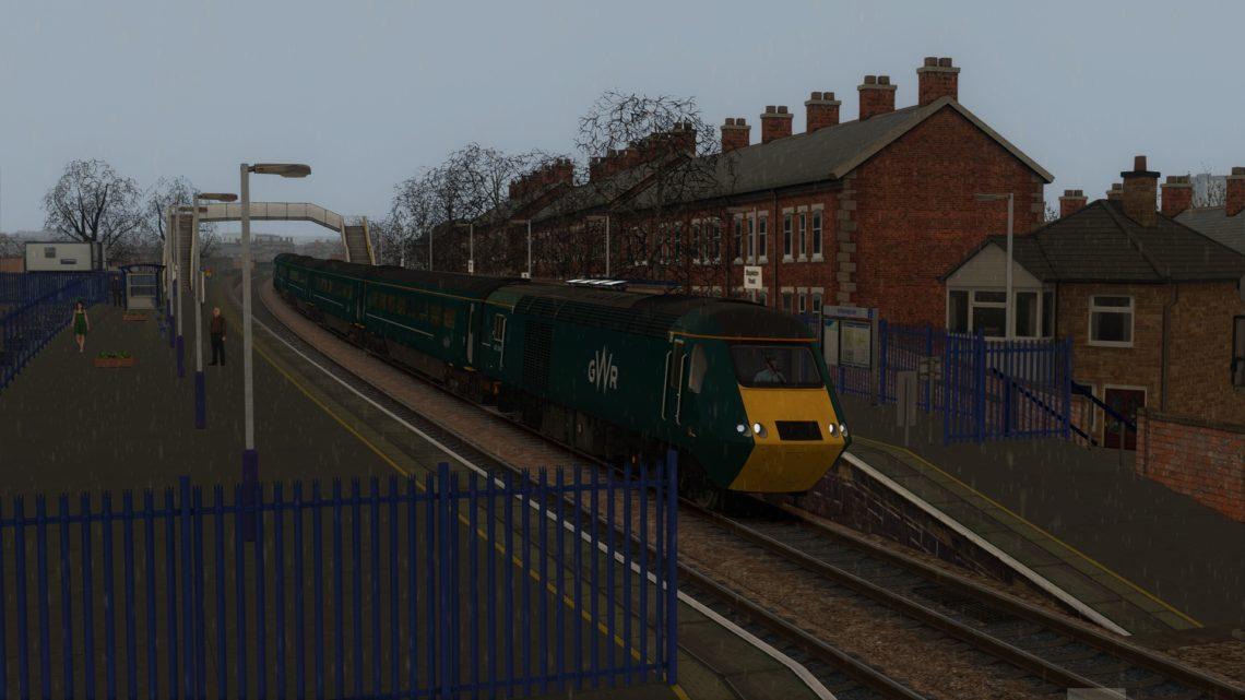 2U02 0515 Taunton to Cardiff Central