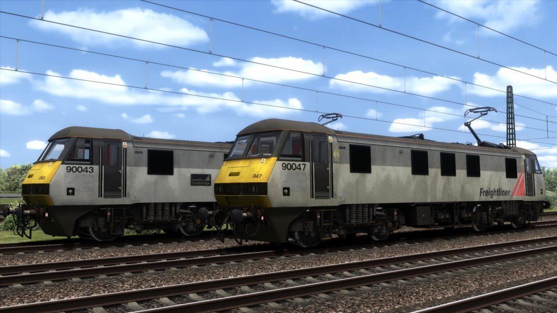 Class 90 Freightliner Grey (Modern)