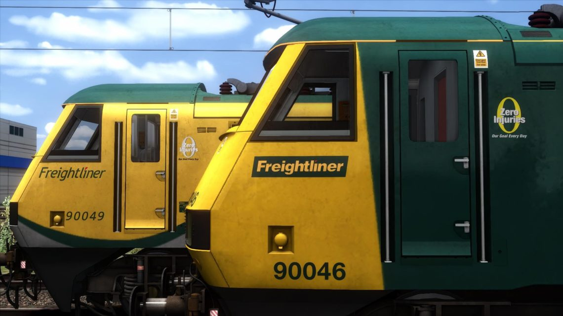 Class 90 Freightliner 'Zero Injuries' Patch – v1.1 –
