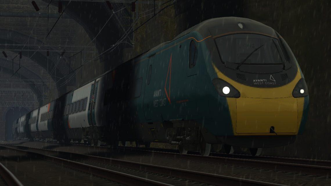 1F20 16:07 (17:25) London Euston (Stafford) to Liverpool Lime Street