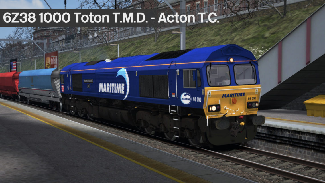 6Z38 1000 Toton T.M.D. to Acton T.C.