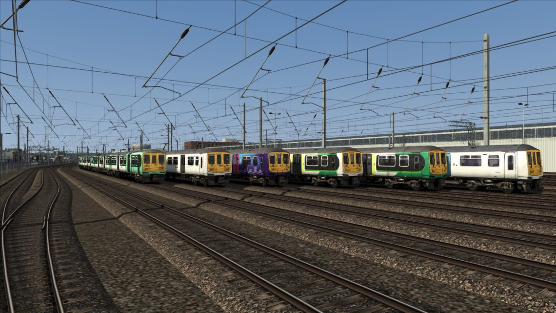 Class 319: London Midland/London Northwestern Railway Livery Pack