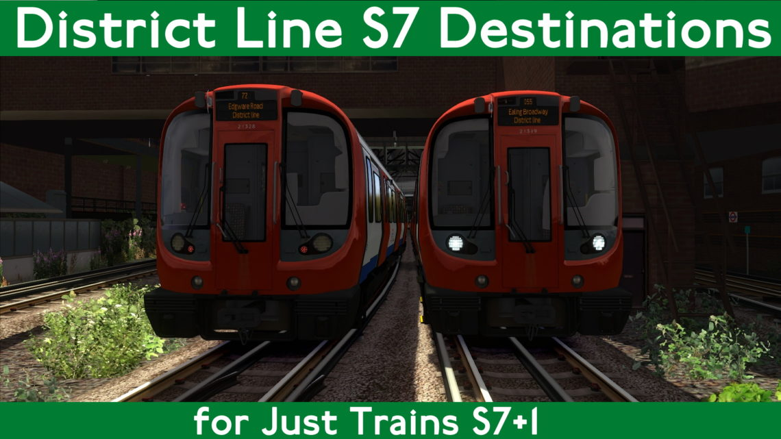 District Line S7 Destinations