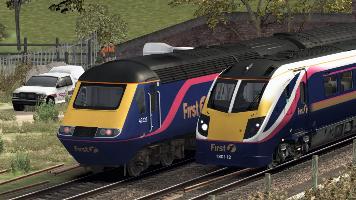 1C75 0835 London Paddington to Exeter St Davids