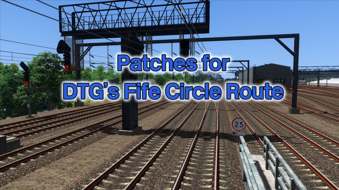 Patches for DTG's Fife Circle Route