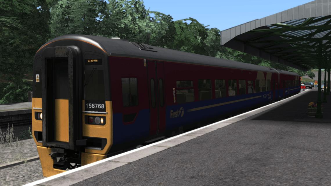 First Great Western (First TransPennine Express) Class 158 Patch