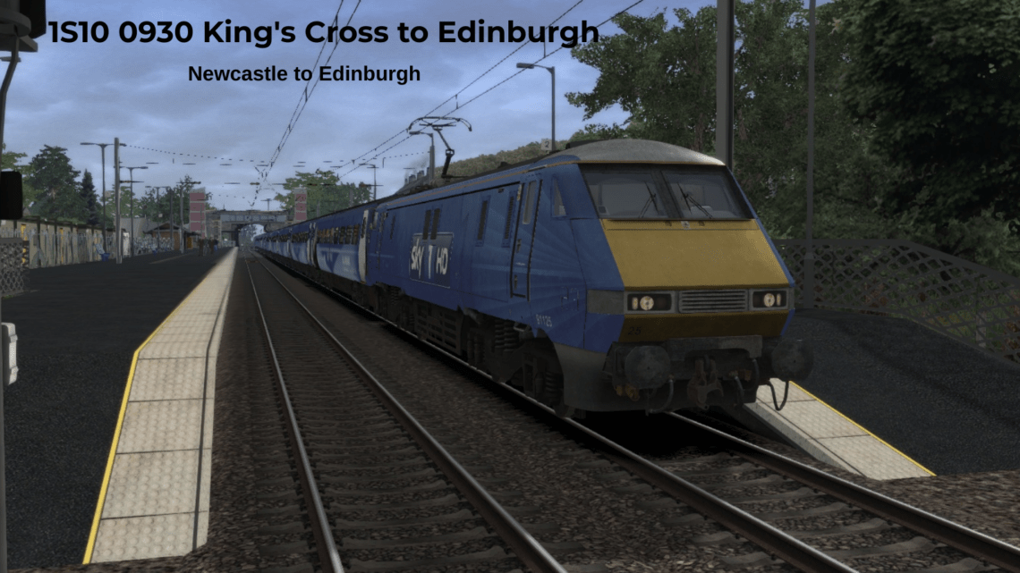 1S10 0930 King's Cross to Edinburgh