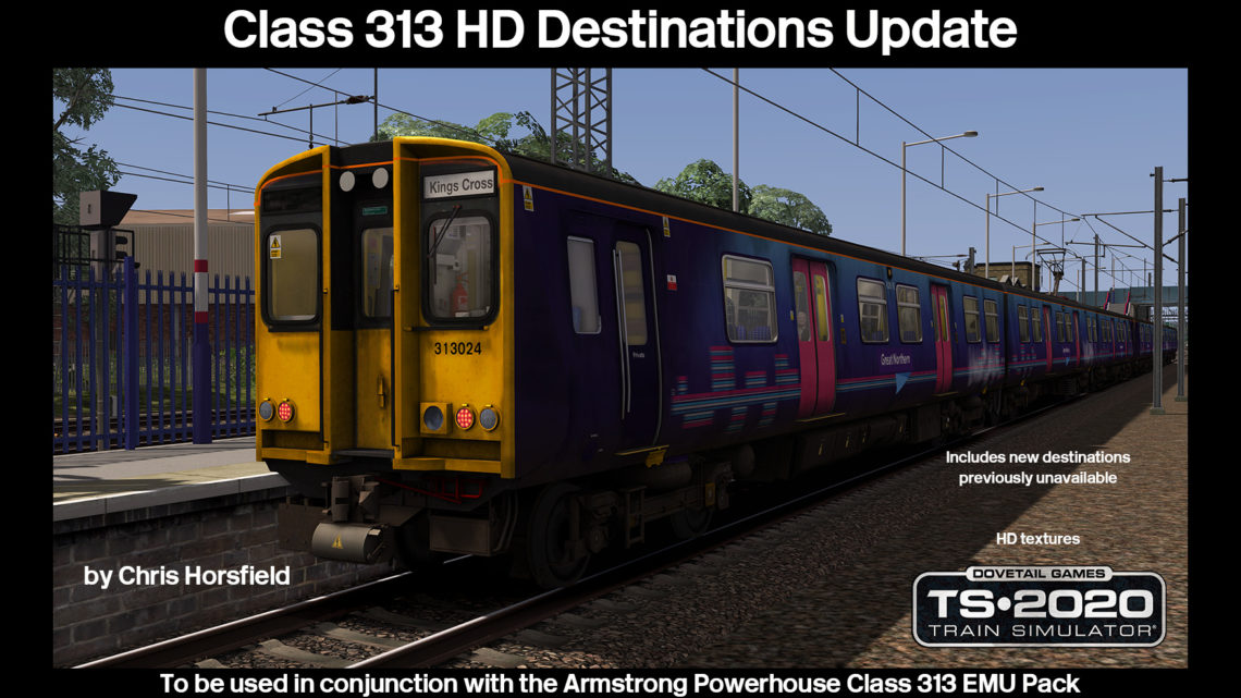 Class 313 HD Destinations Update