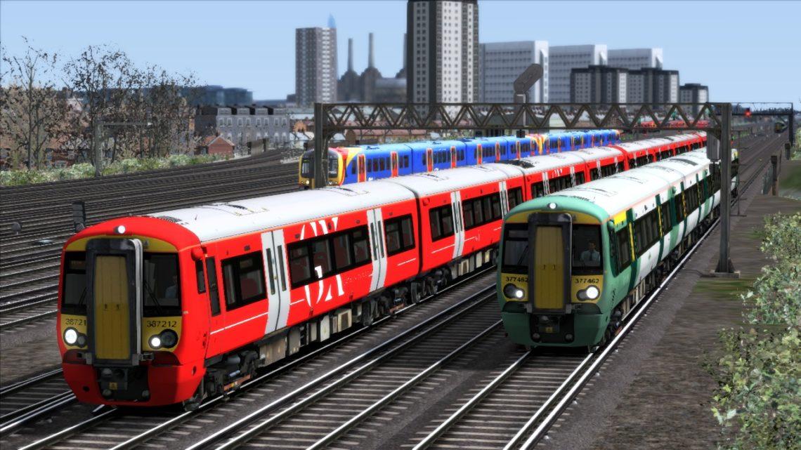 1W46 London Victoria to Brighton GX Class 387 14th 2nd 2020