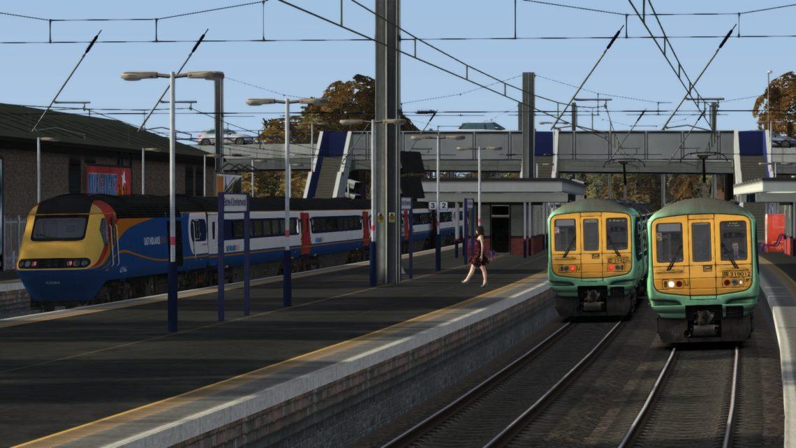 2V83 1514 Luton to Sutton