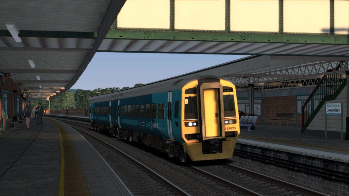 1D17 1708 Birmingham International to Holyhead