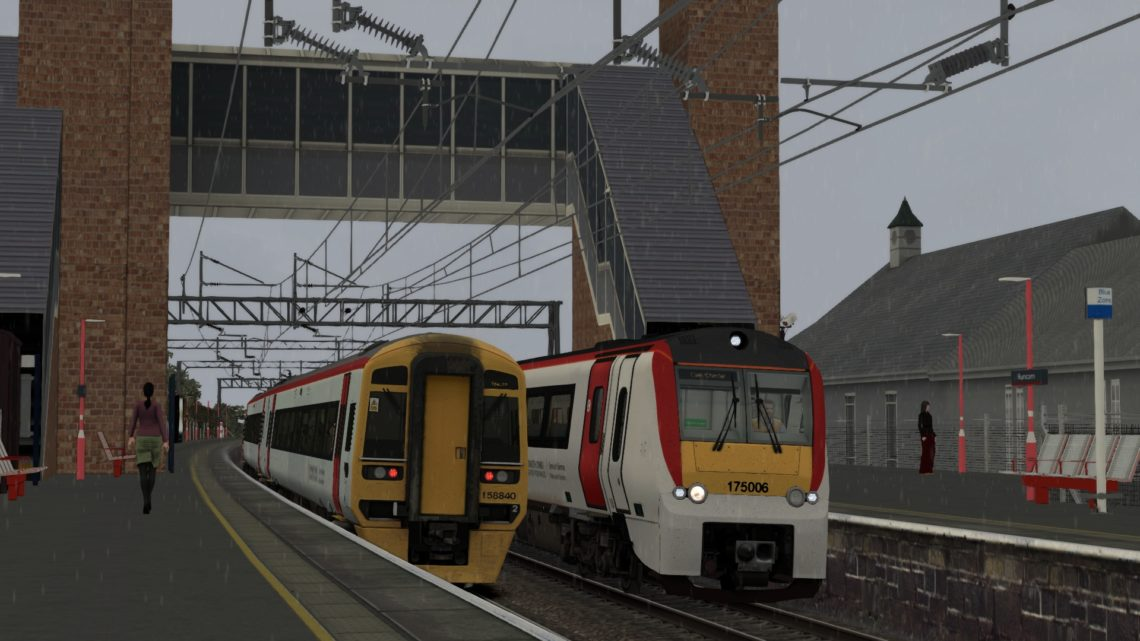 1B19 1636 Liverpool Lime Street to Chester