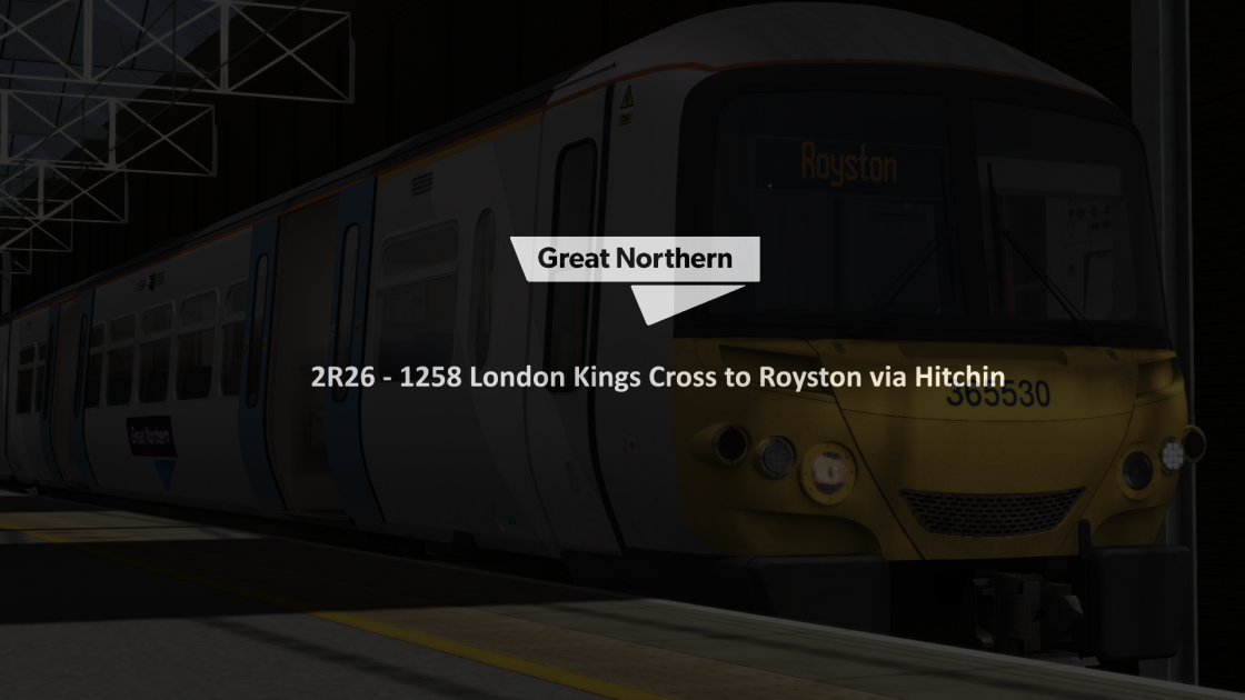 2R26 1258 London Kings Cross to Royston