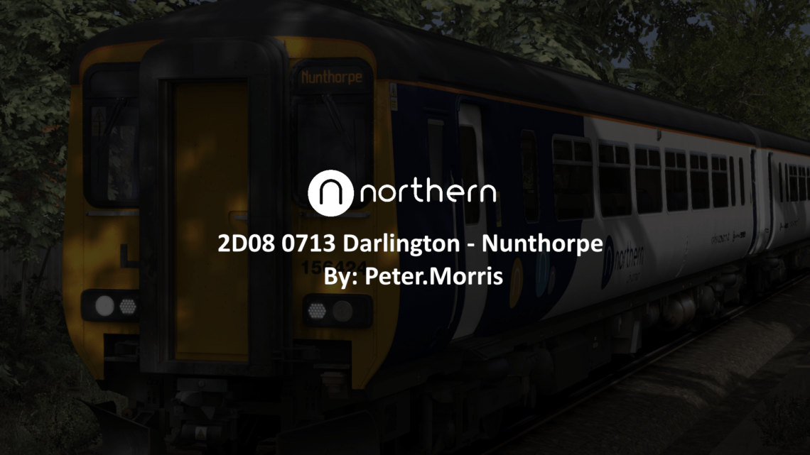 2D08 – 0713 Darlington – Nunthorpe