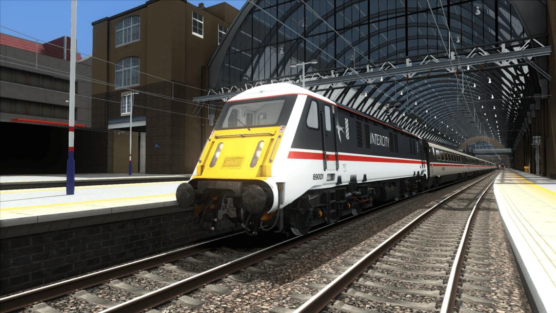 Class 89 Mk4 QD Consists