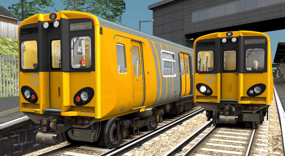 Class 507/508 Merseyrail Destinations Patch