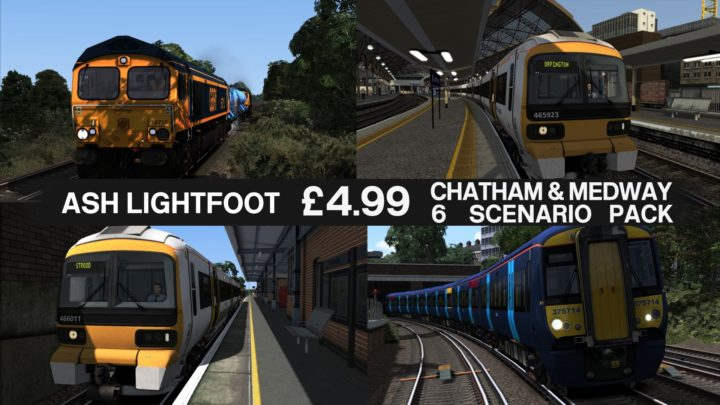 Chatham Main and Medway Valley Lines Scenario Pack