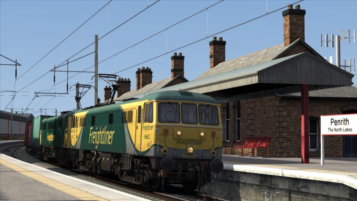 4S50 06.03 Crewe Basford Hall – Coatbridge Freightliner Terminal (2019)