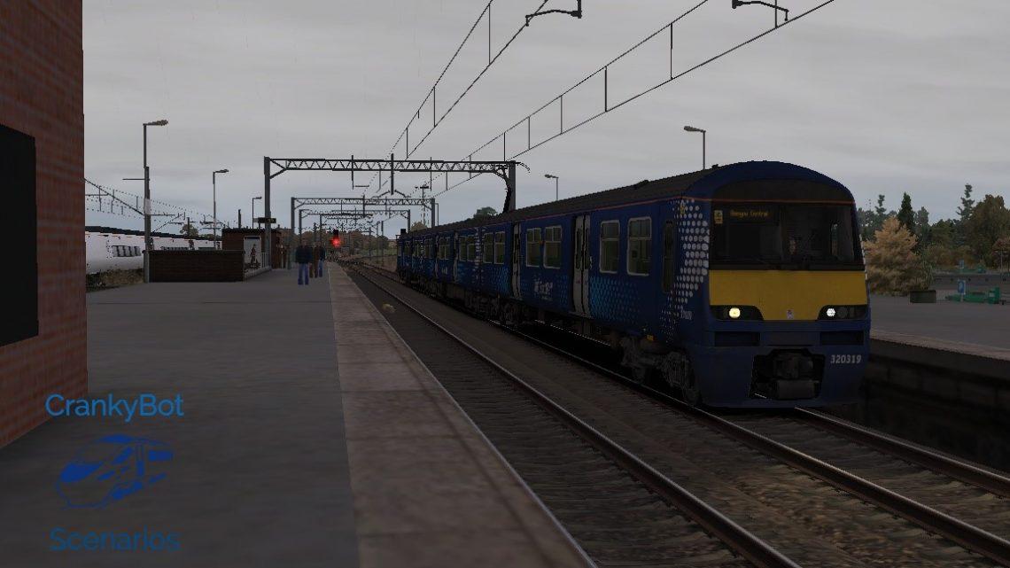 [CB] 2P23 11:49 Newton – Glasgow Central
