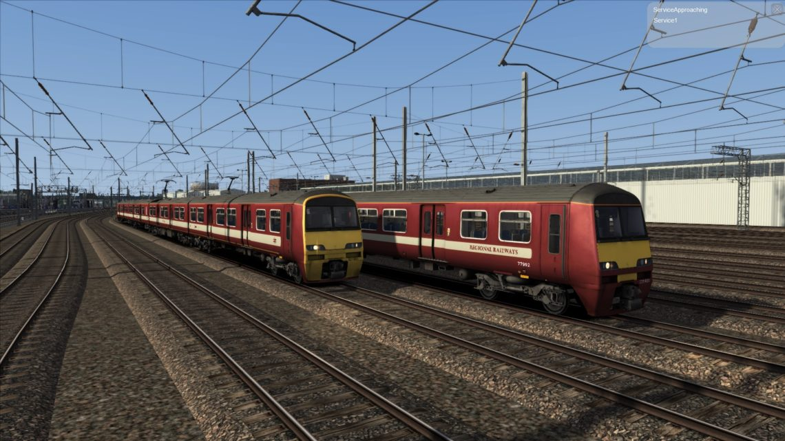 Class 321: West Yorkshire PTE Livery