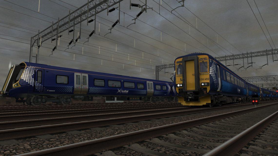 2J06 0848 Glasgow Central to East Kilbride