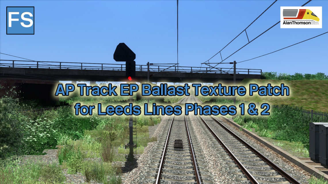 Leeds Lines Phase 1 & 2 Ballast Texture Patch