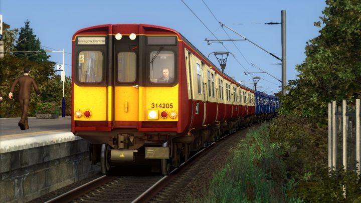 2M87 – 16:19 Newton to Glasgow Central