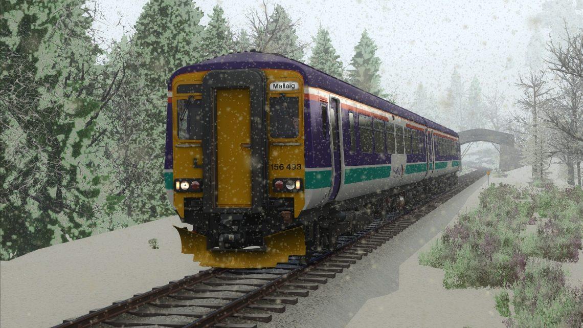 1Y41 – 08:21 Glasgow Queen Street to Mallaig