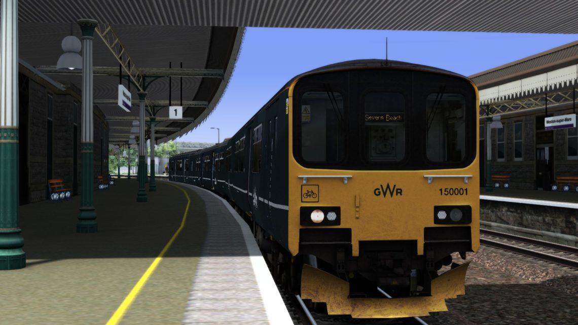 (RP) 150001 GWR Weston-s-Mare-Bristol Parkway