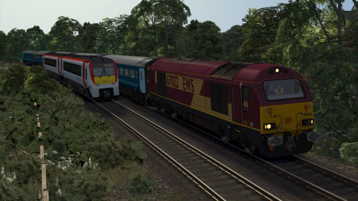 1W96 1716 Cardiff Central to Holyhead