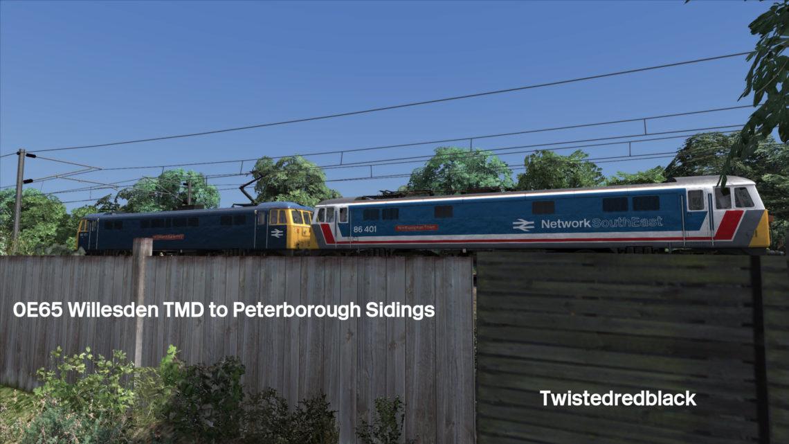 0E65 – Willesden TMD – Peterborough Sidings