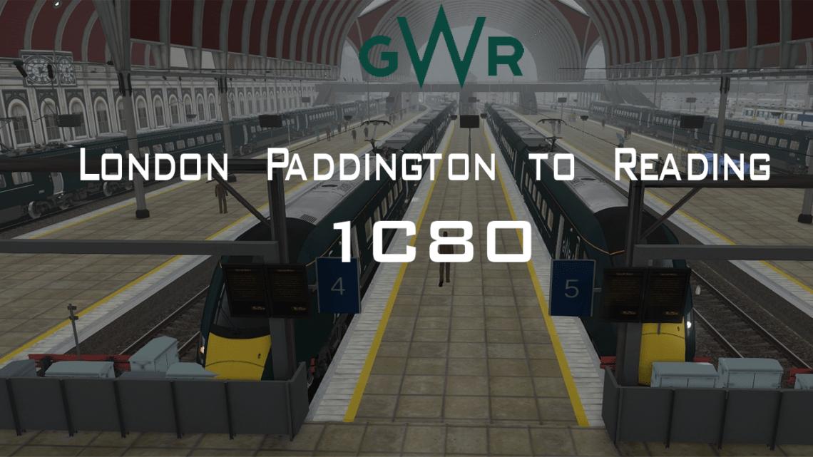 IC80 – London Paddington to Reading – IET