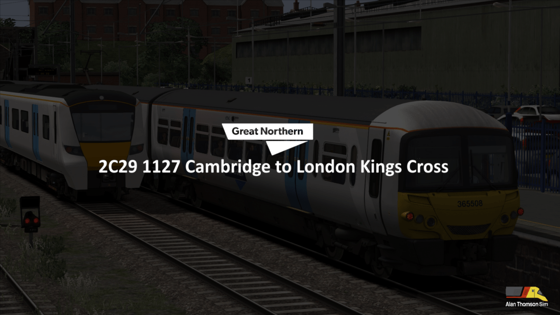 2C29 1127 Cambridge – London Kings Cross