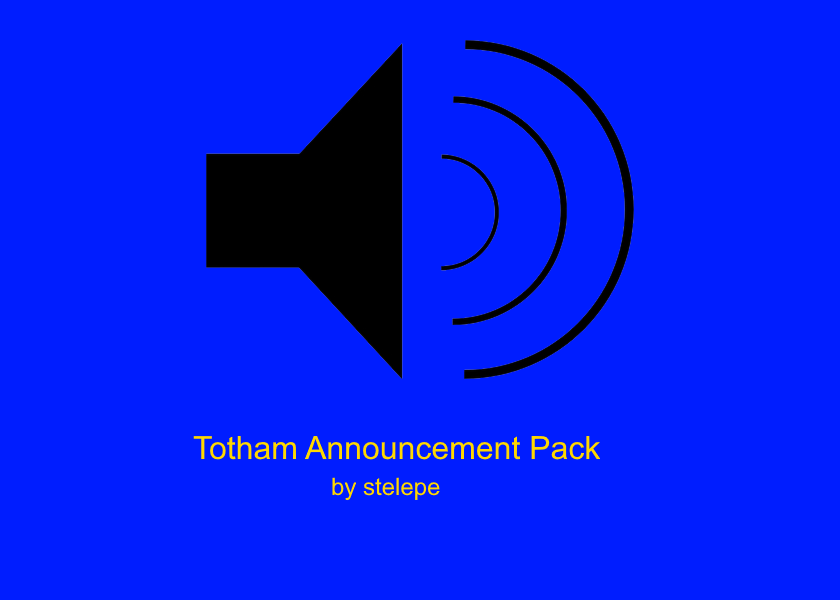 Totham Announcement Pack v1.0