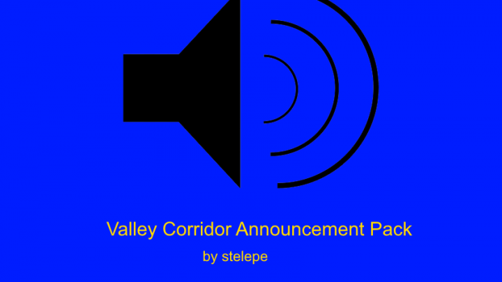 Valley Corridor Announcement Pack v1.0