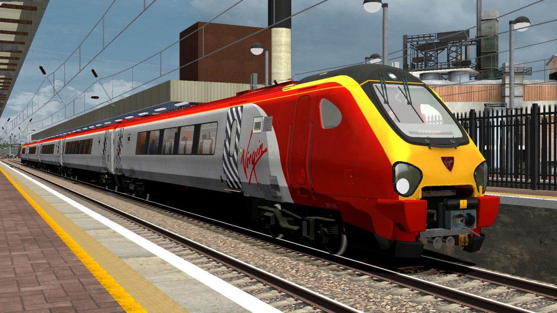 1S58 1045 London Euston to Glasgow Central