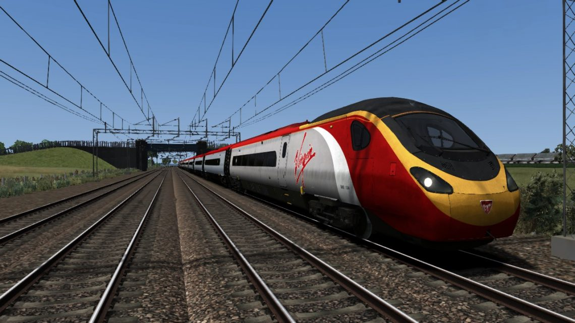 AE98 1M12 11:40 Glasgow Central to London Euston