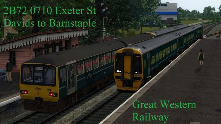 2B72 07:10 From Exeter St Davids To Barnstaple