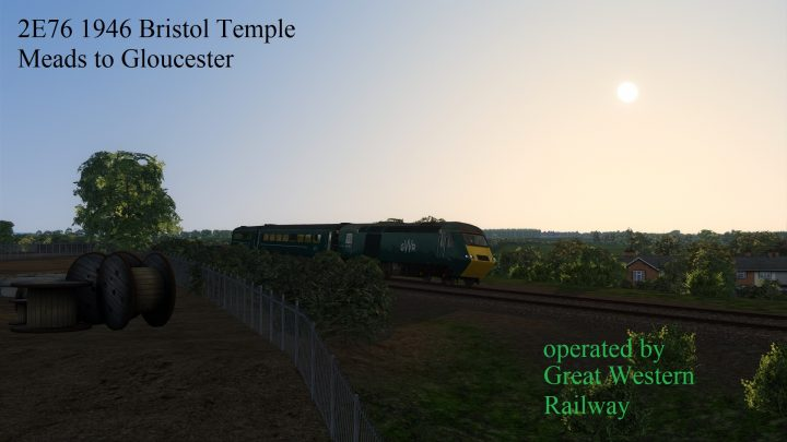 2E76 19:46 Great Western Railway service to Gloucester