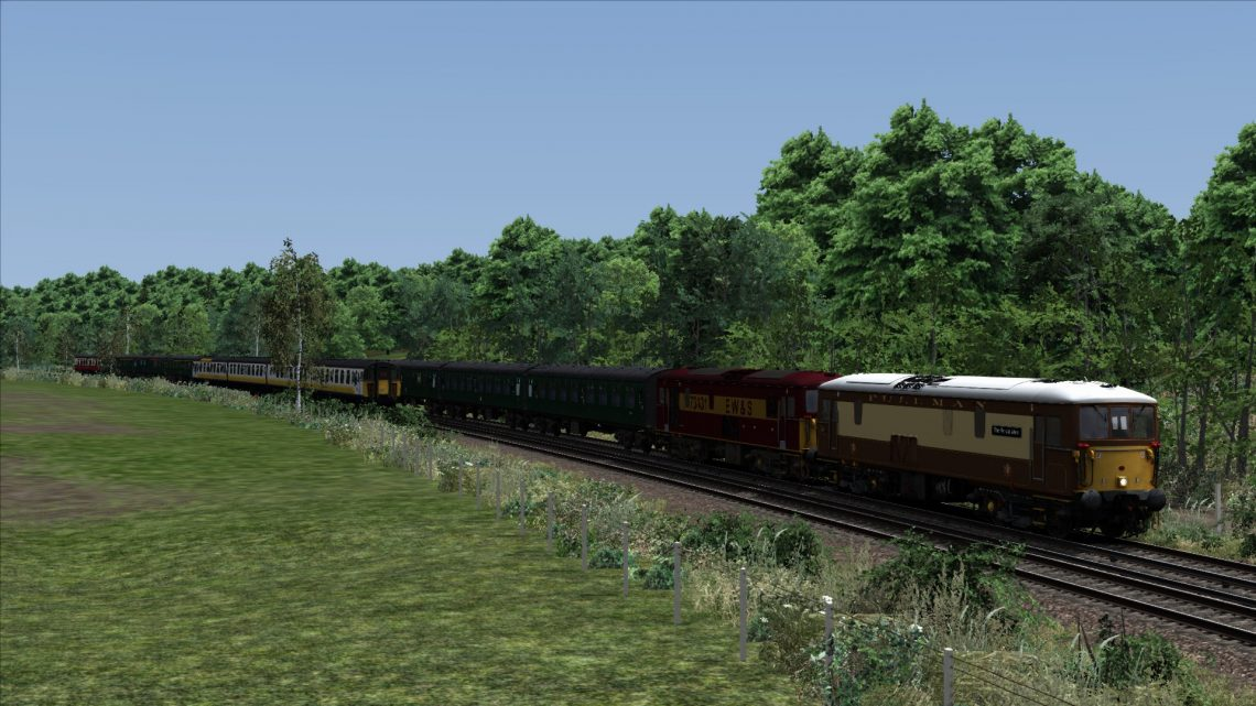 """1Z86 09.00 London Victoria – Poole """"The Wessex Venturer"""" Twin Pack (2001)"""