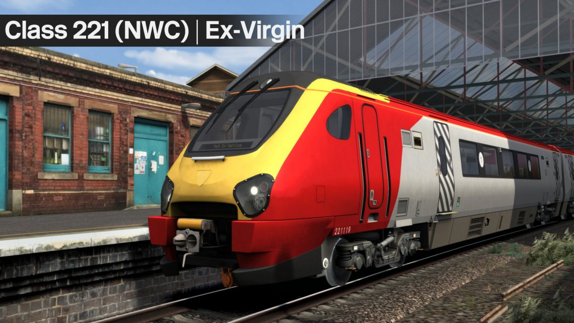 Class 221 Ex-Virgin Trains West Coast (NWC)