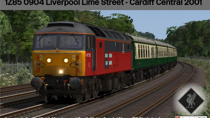 1Z85 0904 Liverpool Lime Street – Cardiff Central 2001