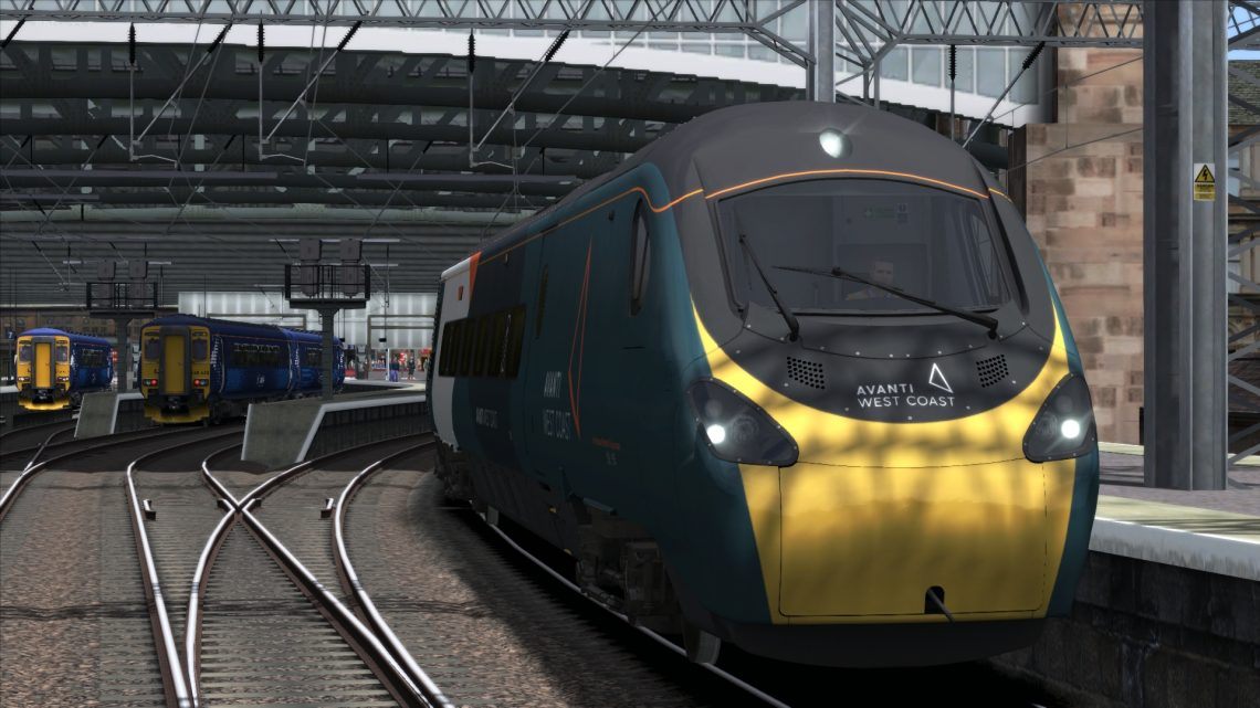 1M13 12:40 Glasgow Central To London Euston