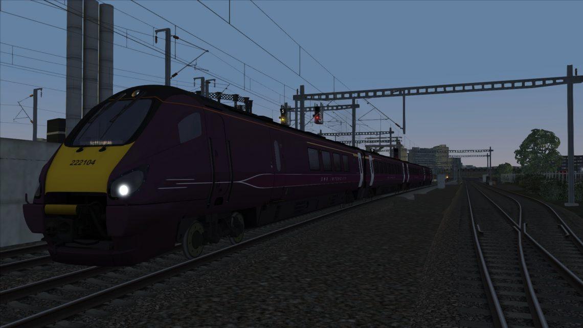 1D76 21:05 St Pancras International to Nottingham