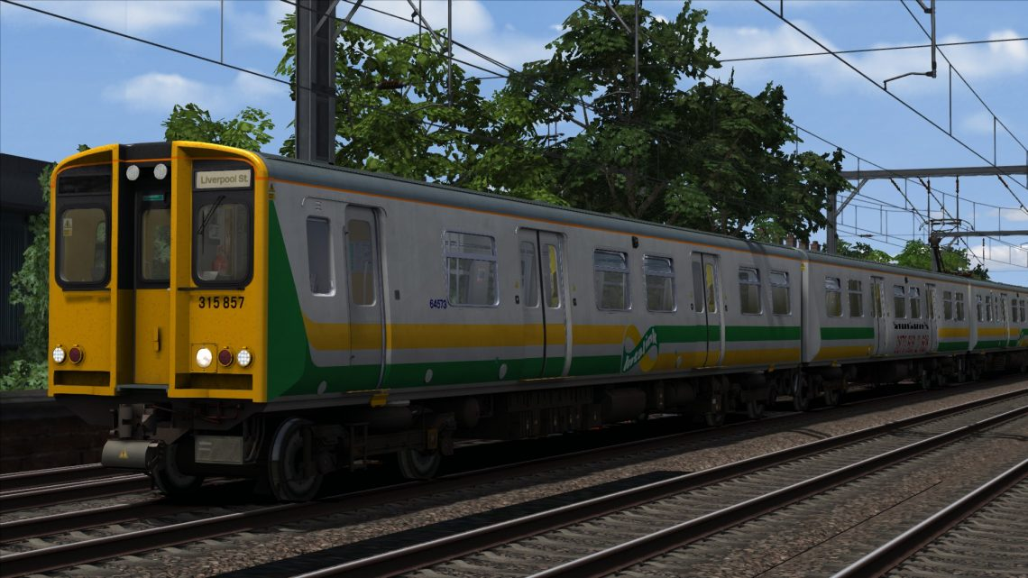 Class 315 Intalink Livery
