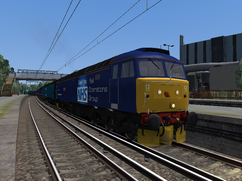 Rail Operations Group Class 47813 & 47815