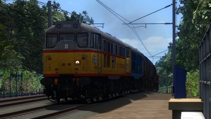 MLH Alexandra Junction to Bescot 31s lite for Birmingham to Bristol Extended.