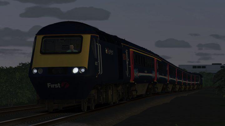 1T47 20:48 Cheltenham Spa to Bristol Temple Meads