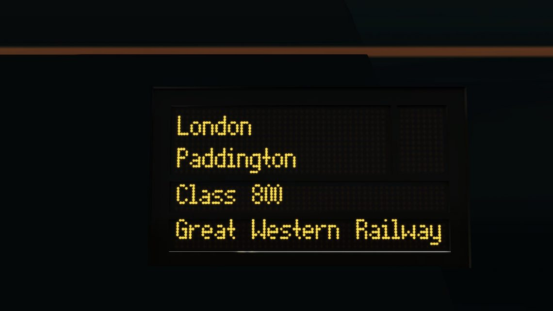 (RP) 1A12 Taunton-London Paddington
